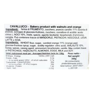 cavallucci ingredienti